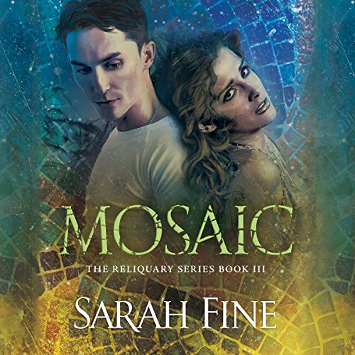 Mosaic audiobook cover art