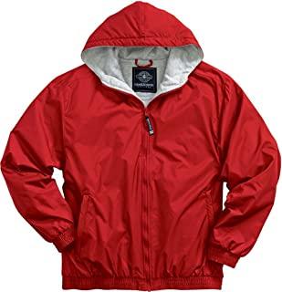 Charles River Apparel 8921 Youth Performer Jacket,Red,XL