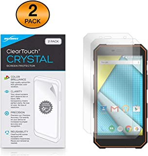 Plum Gator 4 Screen Protector, BoxWave [ClearTouch Crystal (2-Pack)] HD Film Skin - Shields from Scratches for Plum Gator 4