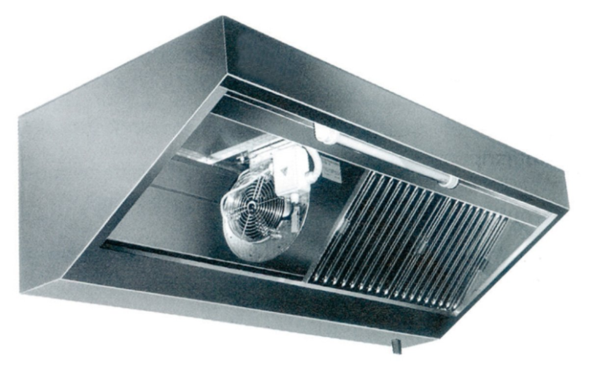 Campana con iluminación, motor y regulador (B2800 X T900 X H450 mm) pared Campana Acero inoxidable Campana Buzón Campana Gastro Gastronomía: Amazon.es: Grandes electrodomésticos