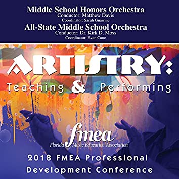 2018 Florida Music Education Association (FMEA): Middle School Honors Orchestra & All-State Middle School Orchestra [Live]
