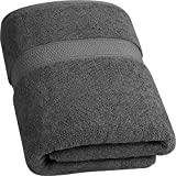 Utopia Towels Luxurious Jumbo Bath Sheet (90 x 180 cm, Grey) - 700