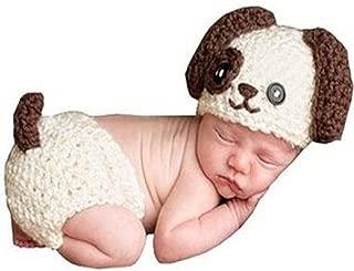 Matissa Newborn Baby Girl/Boy Crochet Knit Costume Photo Photography Prop Hats Outfits