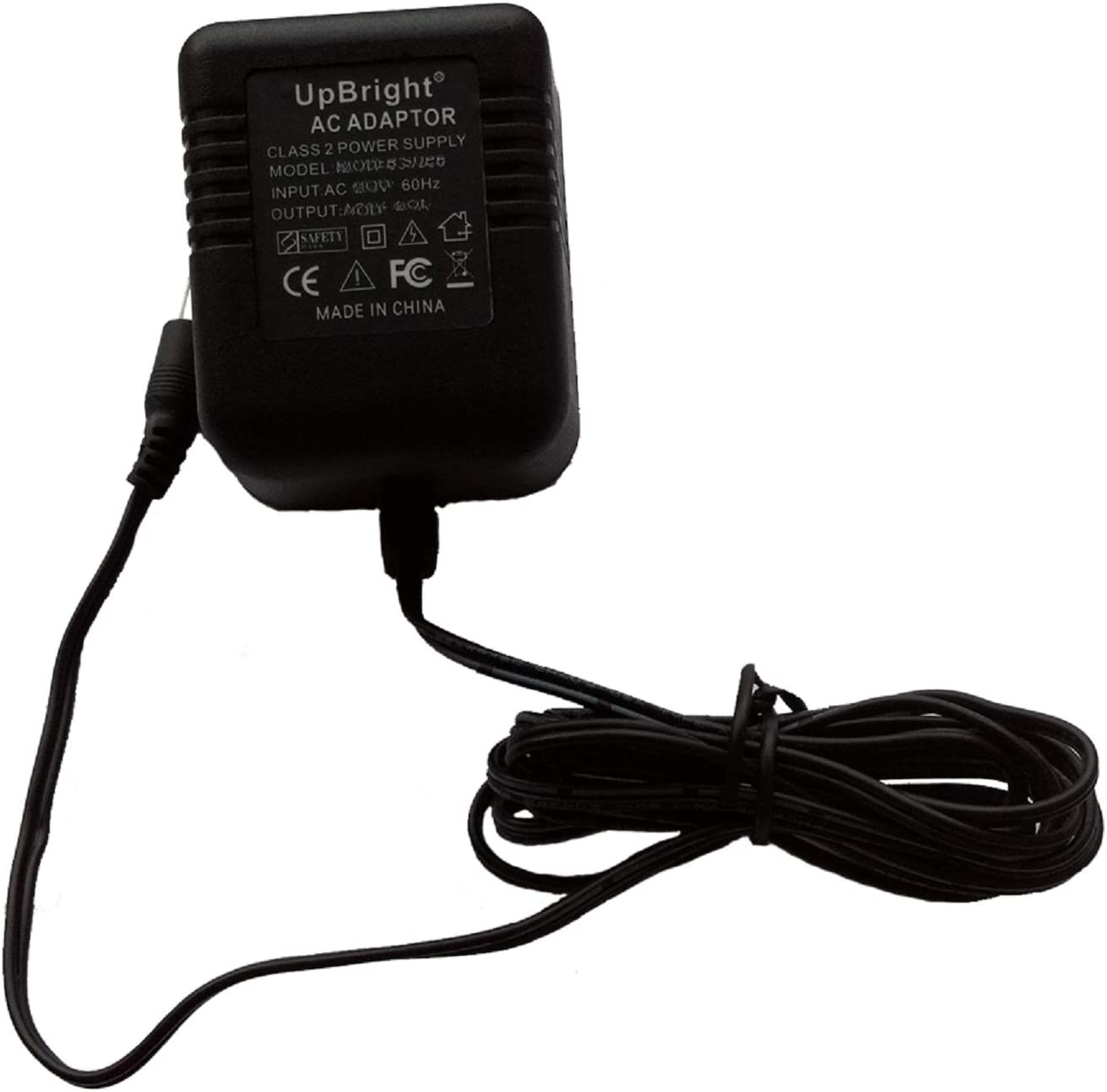 UpBright 24V AC/AC Adapter Compatible with Model: QBA-24V950-IP20 QBA-24V850-IP20 QBA-24V1000-IP20 QBA-240048-IP20 QBA-24V350-IP20 ChangZhou Qibo 24VAC Power Supply Charger (with Female Jack Connector