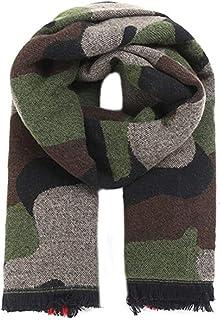 HWTOP Accessoires 2019 Neue Damen Schal Stola Cashmere Camouflage Halstuch Tuch Cover, Camouflage
