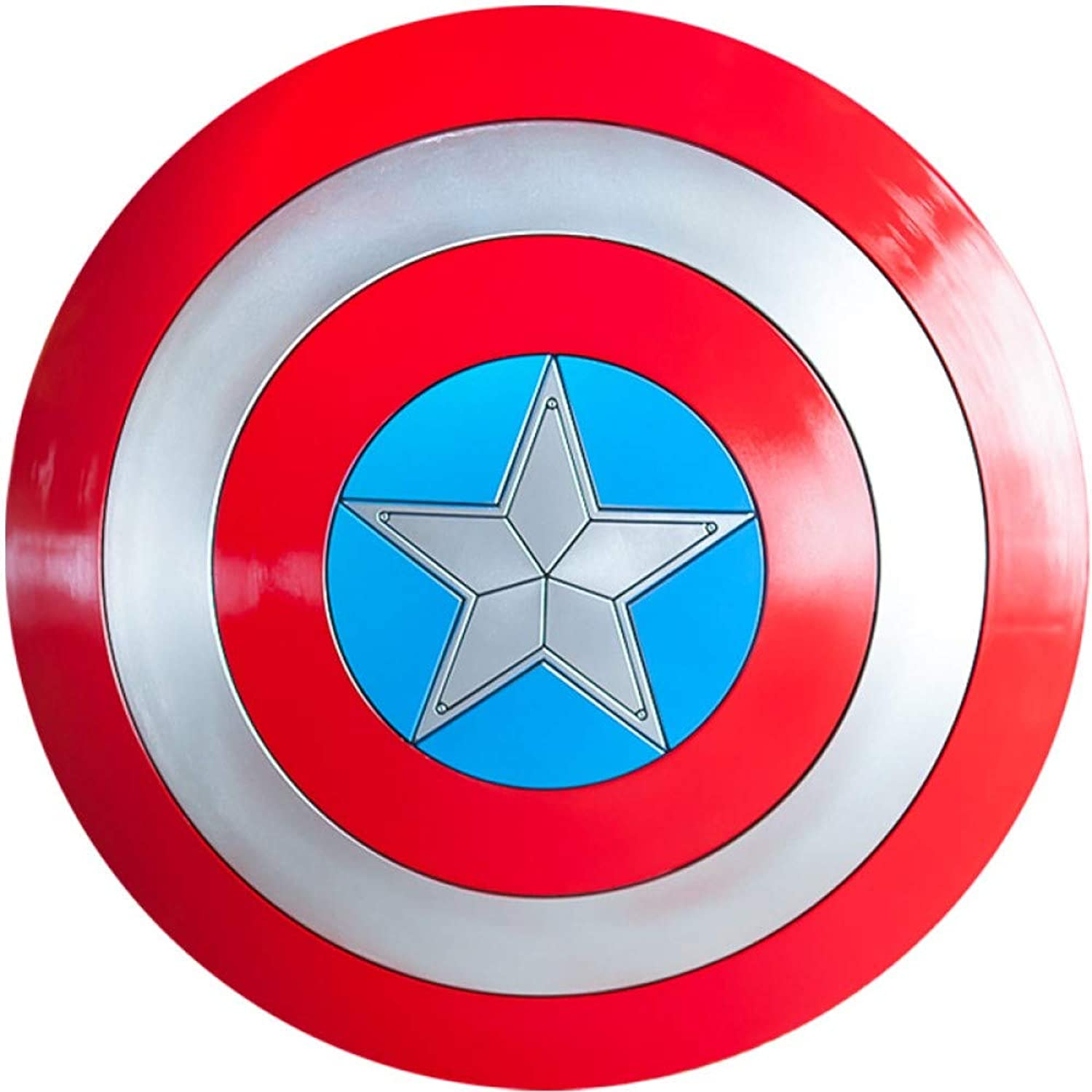Captain America Costume Shield,Captain America, Adult One Size,