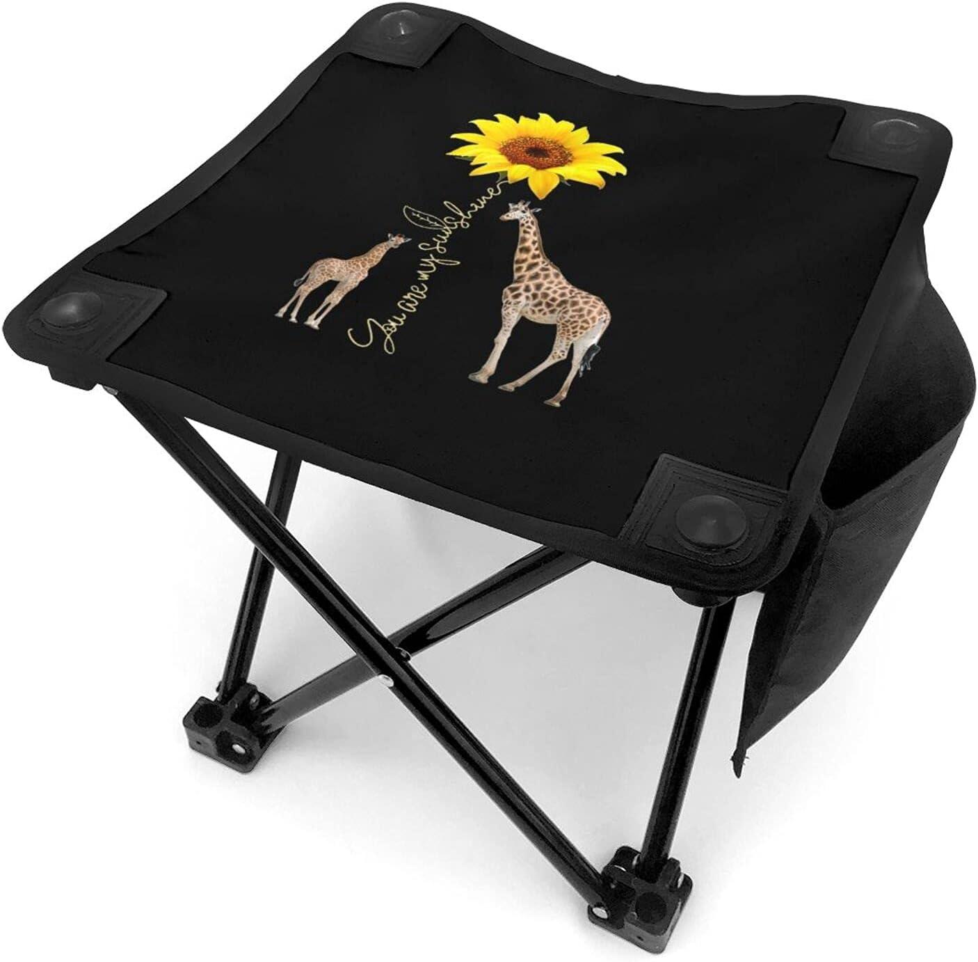 25% OFF Giraffe You are My Bargain Sunshine Ultralight P Stool Camping Sunflower