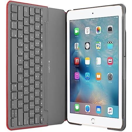 Logitech Funda con Teclado Canvas iPad Air 2 (Mars Red Orange)