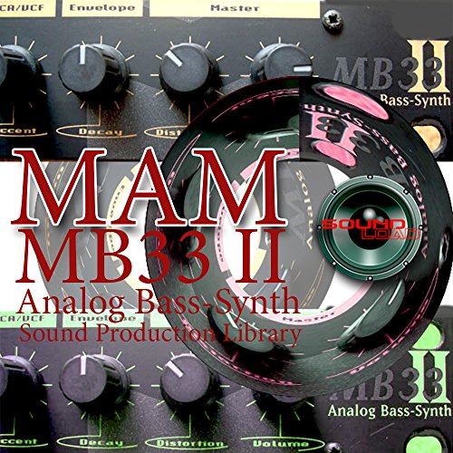 Save %44 Now! MaM MB33 mkII -KING of German Analog Bass - unique original Huge 24bit WAVE/Kontakt Mu...