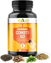 Max Ayurveda Consti Go For Constipation - 60 capsules (Pack of 1)