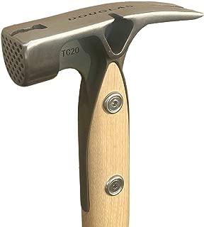 Douglas Tool TC20 Framing Hammer with Satin Finish and Douglas Logo 16CX Handle