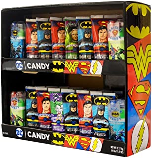 Koko's DC Comics Squeeze Candy + Battle Candy Spray & Powder, 2-Tier Power Wing 40 ct