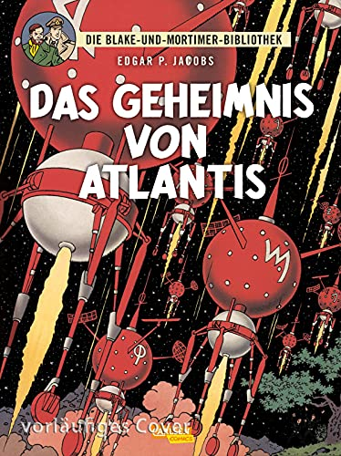 Blake und Mortimer Bibliothek 4: Das Geheimnis von Atlantis (4)