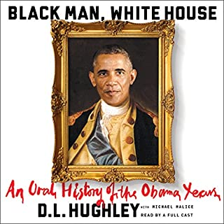 Black Man, White House audiobook cover art