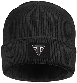 9b1ee81ee05 Mens Womens Beanie Skull Hats Triumph-Motorcycles-Logo- Soft Fine Acrylic  Winter Warm