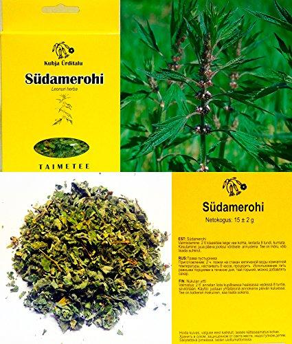 Motherwort (Leonurus cardiaca) hierba seca 15g. de Estonia