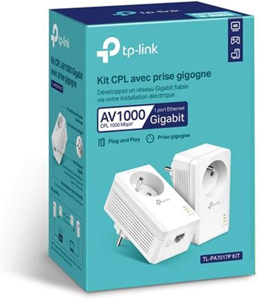 Tp Link 2 X Cpl 1000mbps Cpl Socket With 1 Gigabit Computers Accessories