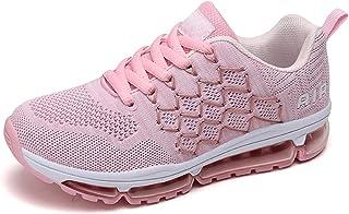 Chaussures de Course Homme Femme Running Baskets Légères Respirante Basquettes Sports Sneakers Coussin d'air Mode Jogging ...