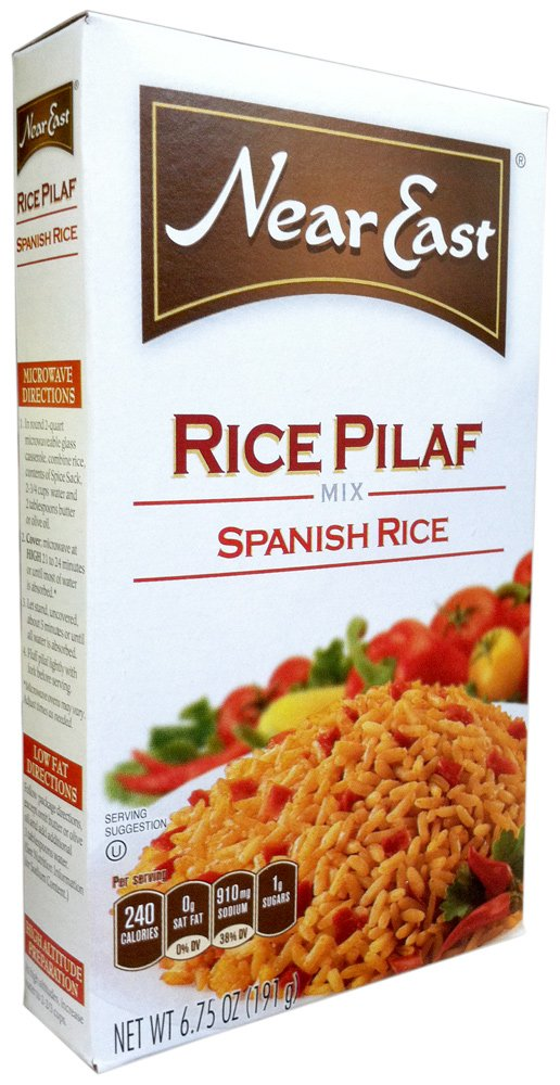 Near East Rice Mix Nashville-Davidson Mall Pilaf 8 Spanish boxes Dealing full price reduction