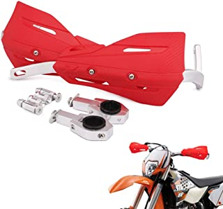 "7/8"" and 1 1/8""Handlebar Hand Guards Handguard Handle Protector Protection For Honda CRF50 CR80 CR85 CRF110 CR125R CR250R Motorcycle Dirt Pit bike (Red)"