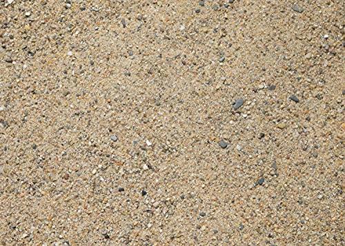 15Kg Rheinsand 0-2mm gewaschener Fugensand/Verlegesand | Beachsand praktisch verpackt in 5Kg Beutel | auch als Spielsand für den Sandkasten (1 x 15Kg Karton)