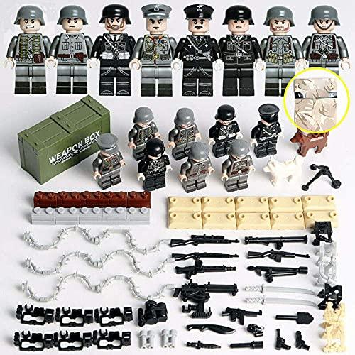 Mini figurines militaires de la Seconde Guerre Mondiale - Armes et soldats - Jouets pour