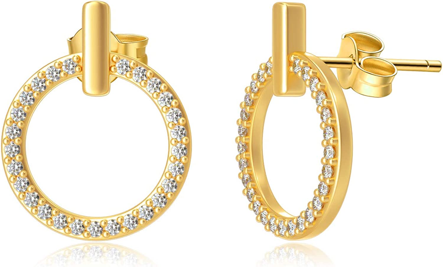 10k 14k Solid Gold Stud Earrings Very popular! Women Mo for Max 78% OFF
