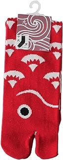 Kaya Men's Sea Bream Design Tabi Socks