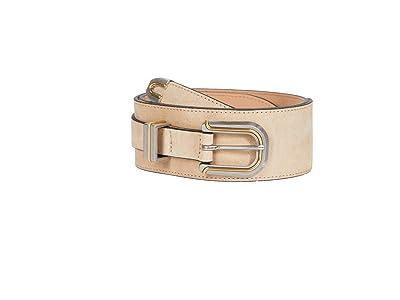 rag & bone Ventura Waist Belt (Stone Beige Suede) Women