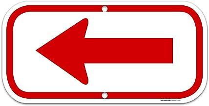 giant arrow sign