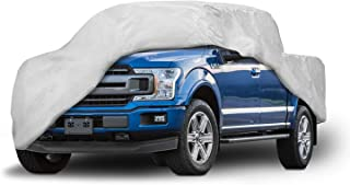Motor Trend T-800 for F150 Weatherproof Custom Fit Truck Cover Compatible with 2001-2019 Ford F-150 Super Crew/Cab (Outdoor Use UV Protection Waterproof)