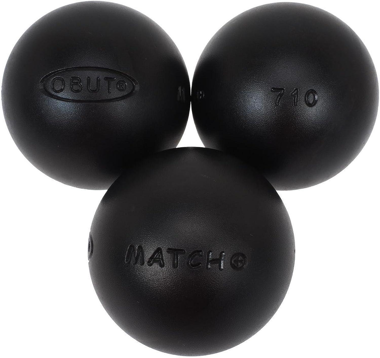 sin mínimo Obut - Bolas de de de petanca Match, cromo, 73 mm  comprar descuentos