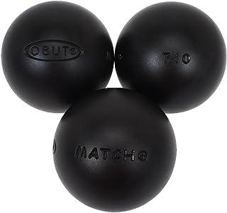 Obut -Bolas de petanca Match, cromo, 73 mm