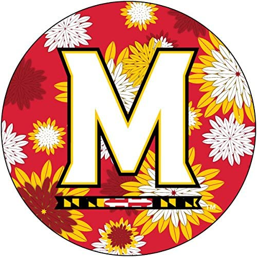 R and Kansas City Mall Imports Maryland Terrapins 4 Max 73% OFF Inch Magnet Floral Round