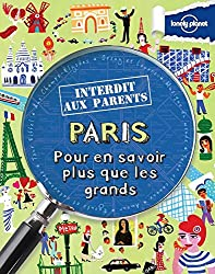 livre Paris Interdit aux parents