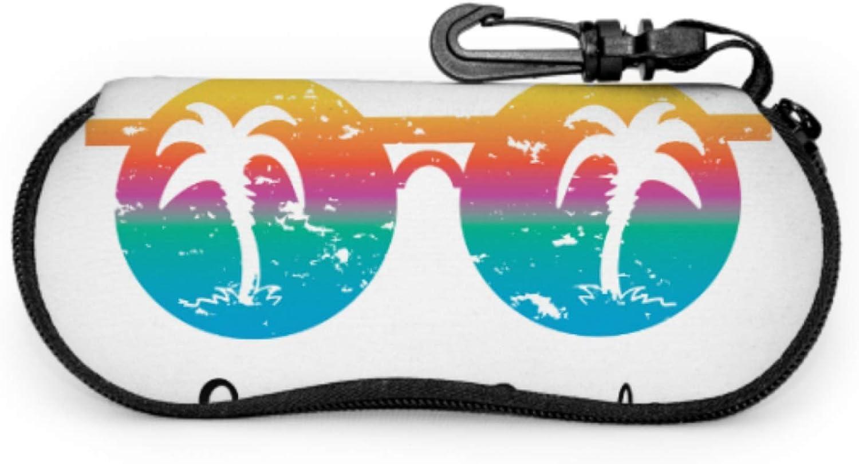 Realistic Sunglasses Mens Eyeglass Case Soft Kid Eyeglass Case Light Portable Neoprene Zipper Soft Case Kid Sunglasses Case