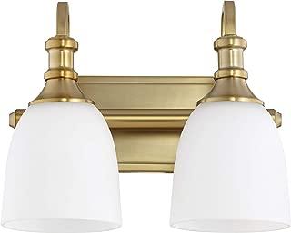 Quorum 5011-2-80 Two Light Vanity