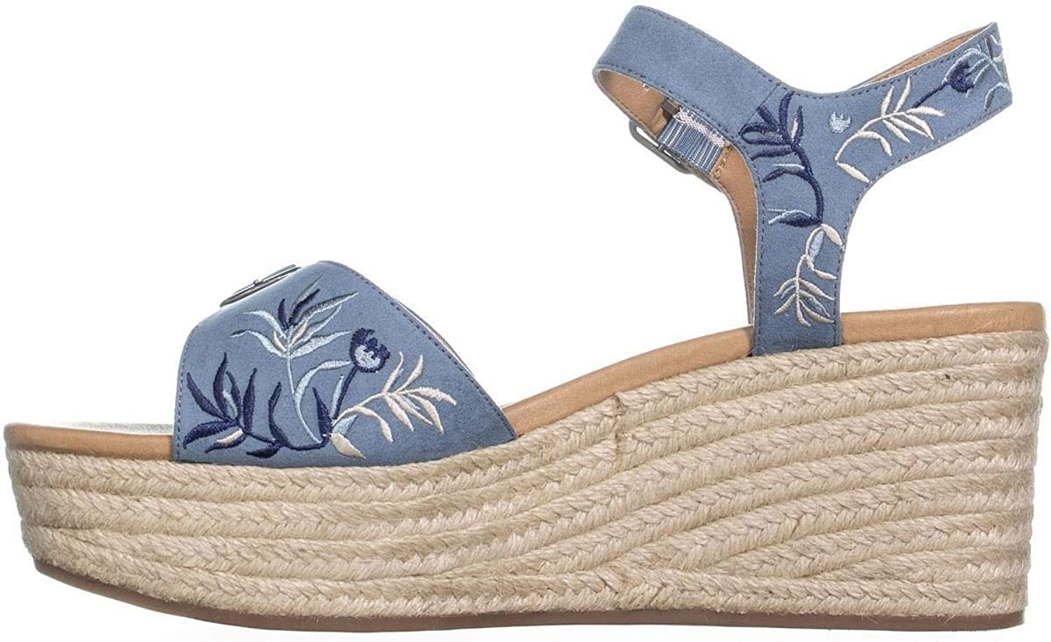 Lucky Brand Women's Naveah2 Espadrille Wedge Sandal Pink