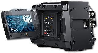 Bruni Skärmskydd är kompatibel med Blackmagic Design URSA Mini Pro 4.6K G2 Film, kristallklart Skyddsfilm (2X)