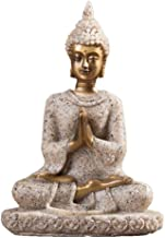 Sculpture Statue Sandstone Buddha Statue Sculpture Figurine Model Home Decor