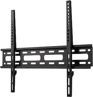 Hama TV Wandhalterung für Fernseher bis 75 Zoll (sehr flacher Wandhalter, VESA 50x50   600x400, für Flachbildfernseher bis 35 kg, mit Wasserwaage) Fernsehhalterung, schwarz