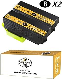 OneMoreBuck Repackaged 410XL Ink Cartridges with Original Brand Ink, Pack-2 (2 Black XL)