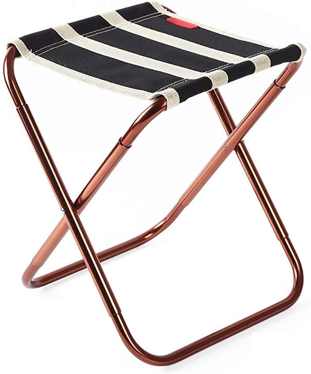 Folding Stool Portable Folding Stool Camping Stool for Outdoor, Camping, BBQ, Backpacking, Beach Sunbath, Travel, Picnic (color Black) GYJ