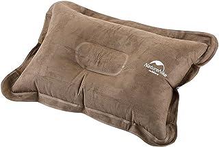 枕 メンズ レディース エアピロー 空気枕 男女兼用 携帯クッション コンパクト アウトドア ブルー/レッド/ブラウン