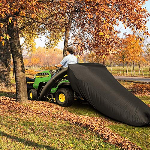 VIBIRIT Lawn Tractor Leaf Bag, Garden Lawn and Leaf Trash Bags Extra Quickly Clean Fall Leaf Zipper Perfect for Cub Cadet XT1 LT42, XT1 LT46, XT2 LX42, XT2 LX46 Lawn Tractors