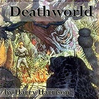 Deathworld audiobook cover art
