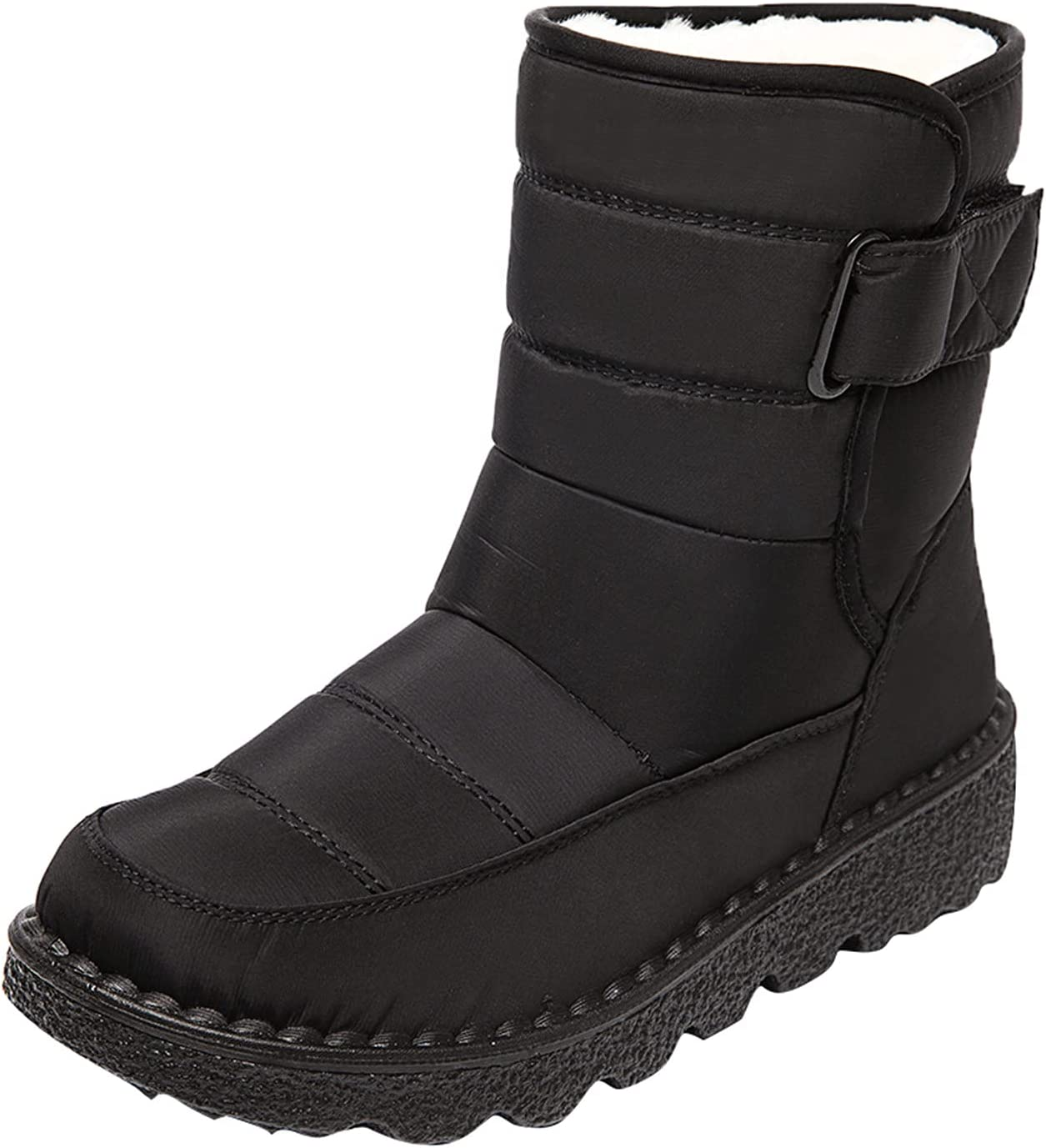 Woolkey Winter Boots for Women Max 70% OFF Retro Warm Fashion Inexpensive Slip Non Ankle