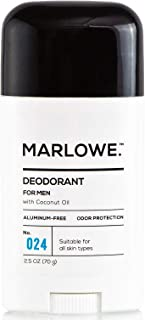 Sponsored Ad - MARLOWE. No. 024 Natural Deodorant for Men 2.5oz   Aluminum Free Stick   Made with Coconut Oil, Shea Butter...