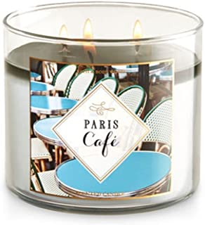 Bath and Body Works Paris Cafe 3 Wick 14.5 ounce Candle