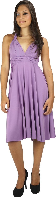 Wrap Magic Women's Convertible Dress African Violet